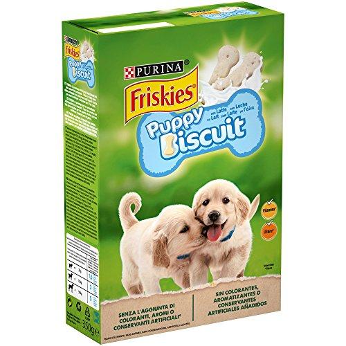 Purina Friskies Puppy Milk galletas para perros cachorros 8 x 250 g