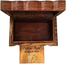 New Age Imports Tree of Life Wooden Box, 4 x 6-Inches