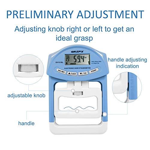 握力体力測定用デジタル握力計正規品1個セット