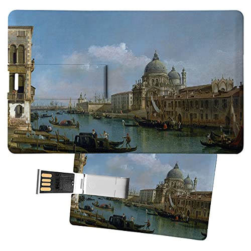 My Custom Style USB-Stick 8,3 x 5,2 x 0,03 cm#Arte-Canal Groß, Bellotto #32 GB