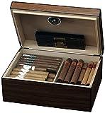 Egoist JK00174 Cave à cigares Humidor Humidificateur avec hygromètre  - 40 cigares...