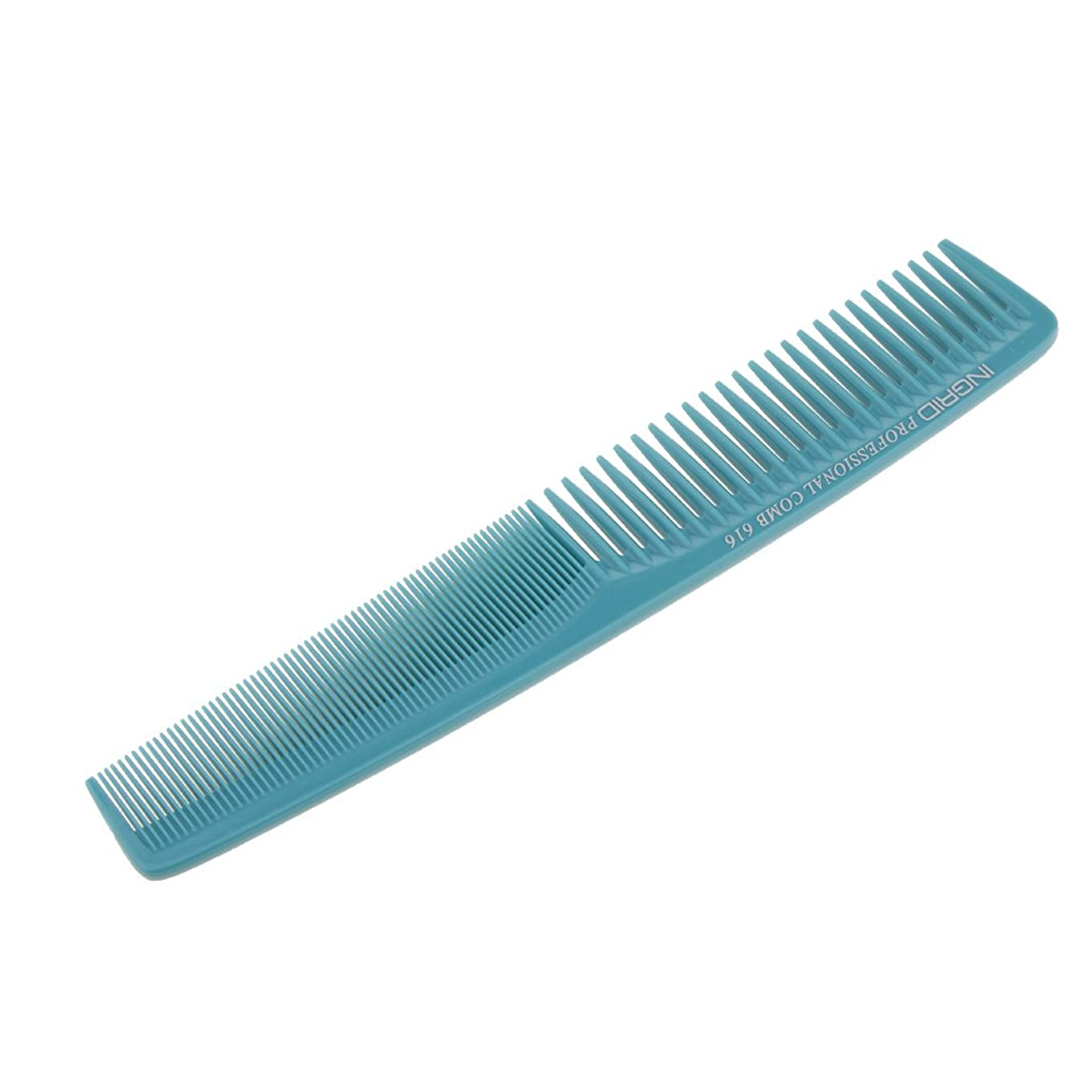 写真の苦しみサイレンHomyl ヘアカットコーム 櫛 コーム 理髪店 静電気防止 全5色  - ライトブルー