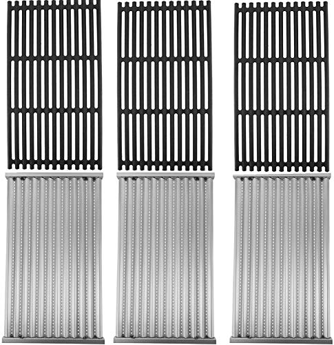 MixRBBQ 3 Pack Grill Grate and Emitter Replacement Parts for Char-Broil Commercial, Signature, or Professional Series TRU-Infrared Gas Grills Grates Grids