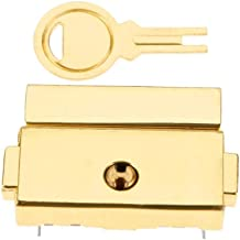 1 Set Achter Slot En Grendel Toggle Buckle, Goud/Zilver Zinklegering Buckle Clip, Box Buckle 33 × 25 Mm (1,30 X 0.98in), M...