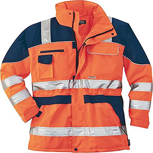 Complète idéalement les tenues professionnelles qualitex parka safety scheibler plus M