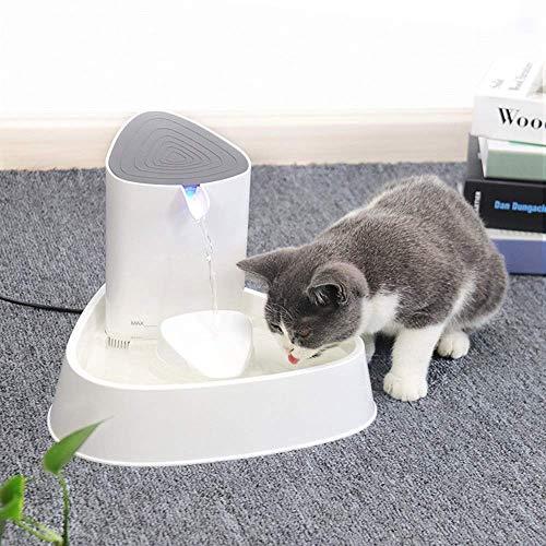 Qidongshimaohuacegongqiyouxiangongsi Futterautomat Katze und Hund smart Electric pet elektrische Zirkulation stille Wasserspender Vier Faltenfilter Trinkbrunnen Nizza Aquarium