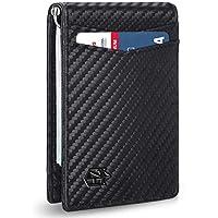 Zitahli Mens Wallet with Money Clip Slim RFID Front Pocket Wallets