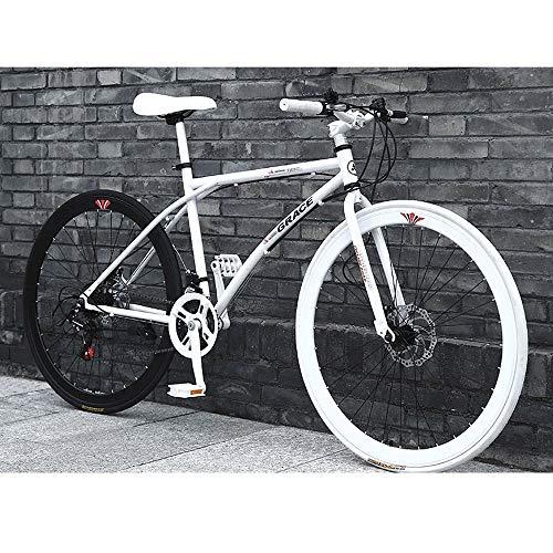 YXWJ 24 velocità Mountain Bike a Buon Mercato for Adulti 40 Razze della Montagna della Bicicletta City Road Bicicletta della Bici dell'automobile 24/26 Pollici Bicicletta (Dimensione : 26 Inches)