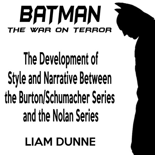 Batman: the War on Terror audiobook cover art