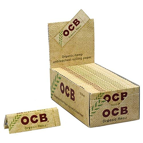 OCB Organic Hemp 1300, 50 Heftchen, 50 Blatt