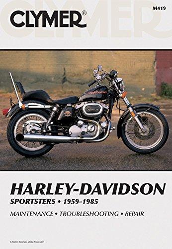 Harley-Davidson Sportsters (1959-1985) Clymer Repair Manual