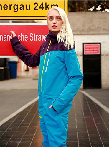 Traje De Esquí para Mujer, Damas De Invierno Snowsuit, Una Sola Pieza, Impermeable A...