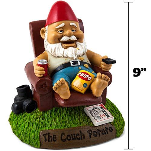 Couch-Potato Gartenzwerg - 4