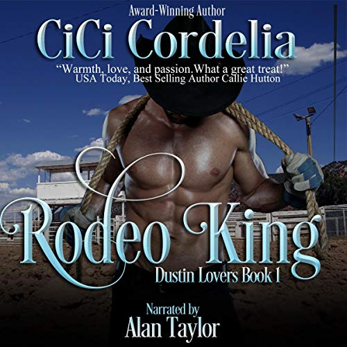 Rodeo King audiobook cover art