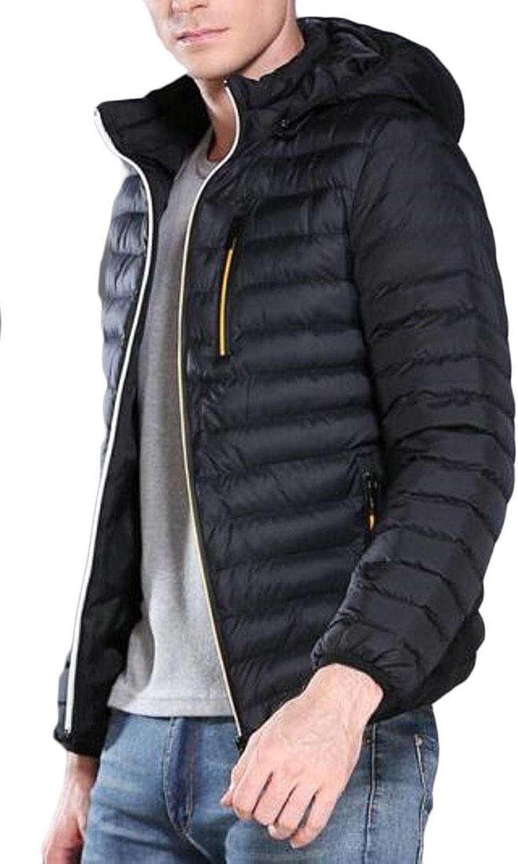 - WSPLYSPJY Men's Winter Winter Winter Warm Lightweight Packable Down Jacket Coats dda420
