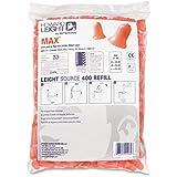 Howard Leight Max Disposable Earplugs Refill - 2 / Pair - Orange
