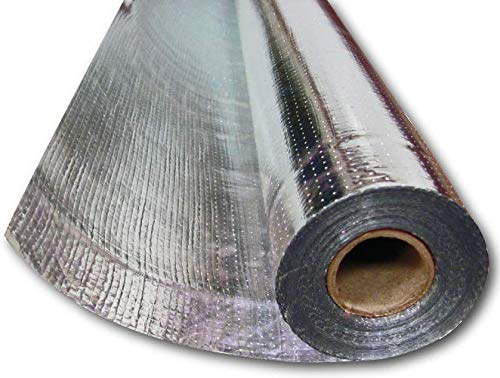 US Energy Radiant Barrier Insulation Aluminum Foil Roll 1000 SQFT (4ft x 250ft) Reflective...