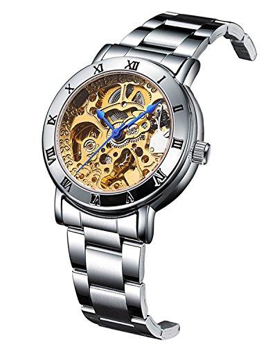 IK Women's Automatic Watch, Steampunk Self Winding...