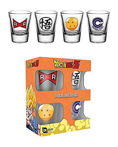 GB Eye LTD, Dragon Ball Z, Mix, Vasos de chupito 20 ml