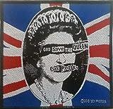 Sex Pistols - God Save The Queen Patch 10cm x 9.5cm