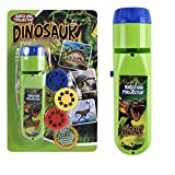 Kids Wall Torch and Projector Flashlight Dinosaur Toys for Boys and Girls Bedtime Educational Learning Fun Toys...