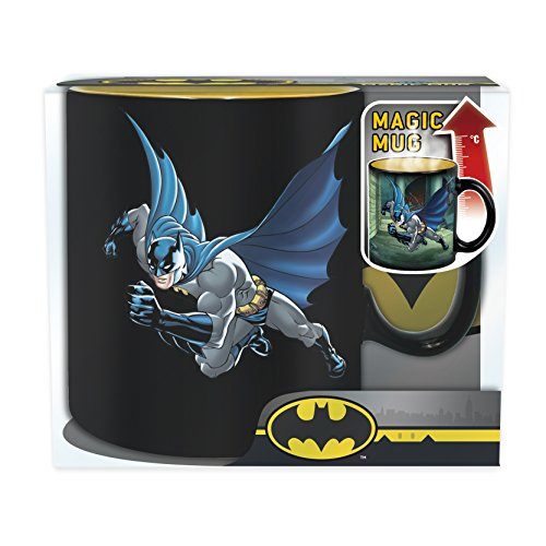 ABYstyle- Dc Comics Batman & Joker Heat Change Tasse für Erwachsene, 460 ml, ABYMUG382