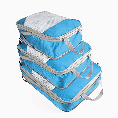 AIWKR Set De Organizadores De Viajes,para Ropa Y Accesorios,Conjunto De Bolsa De Almacenamiento De Viaje