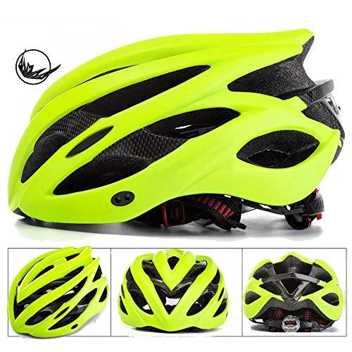 MXYMC - Casco de bicicleta para hombre y mujer, con forma integral,...