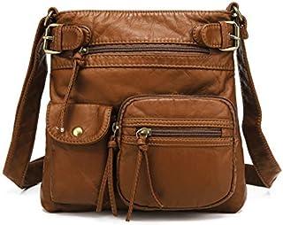 Scarleton Ultra Soft Multi Pockets Accent Top Belt Crossbody Bag H1833