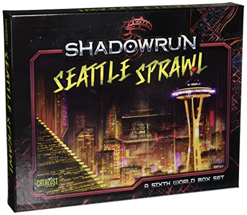 Catalyst Game Labs Shadowrun Seattle Box