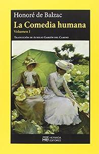 La Comedia humana: Volumen I: Escenas de la vida privada par Honoré de Balzac