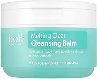 [BOTANIC HEAL BOH] Melting Clear Cleansing Balm 100ml - Sherbet Type One Step Makeup Cleanser, Sebum Control Pore Care Soothing & Moisturizing Cleamsing Balm