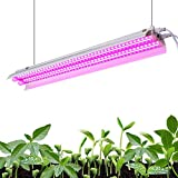Monios-L LED Grow Light Full Spectrum 30W 2ft T5 High Output Integrated Fixture