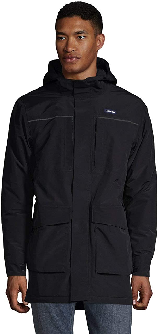 We OFFer at cheap prices Lands' End Men's Squall store Parka Waterproof