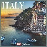 Italy 2021 Calendar: Official Italy Wall Calendar 2021, 18 Months