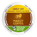 Marley Coffee Single Serve Coffee Capsules, Lively Up, 100% Arabica Coffee, 12 Count (Pack of 6)