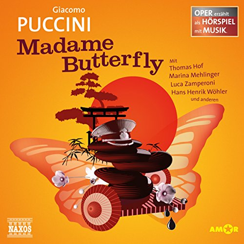 Madame Butterfly audiobook cover art