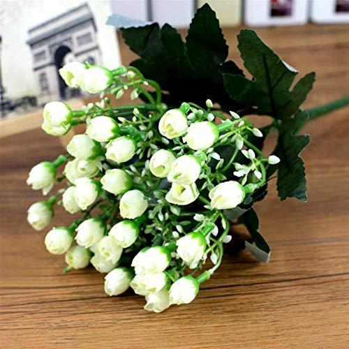 Künstliche Blumen Seide Pfingstrose...