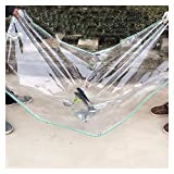 AWSAD Lona Transparente Resistente Lona Impermeable Cubierta del Balcón Lona Plástico Transparente Toldo Impermeable para Ventana Al Aire Libre, 23 Tamaños (Color : Clear, Size : 3x3m)