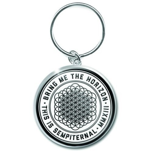 Bring Me The Horizon This Is Sempiternal White Metal Keychain Keyring Official