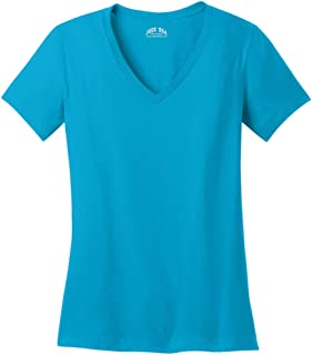 Joe's USA - Ladies Soft V-Neck T-Shirts in Sizes XS-4XL