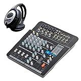 Samson Mixpad MXP124FX - Mesa de mezclas (12 canales, USB,...