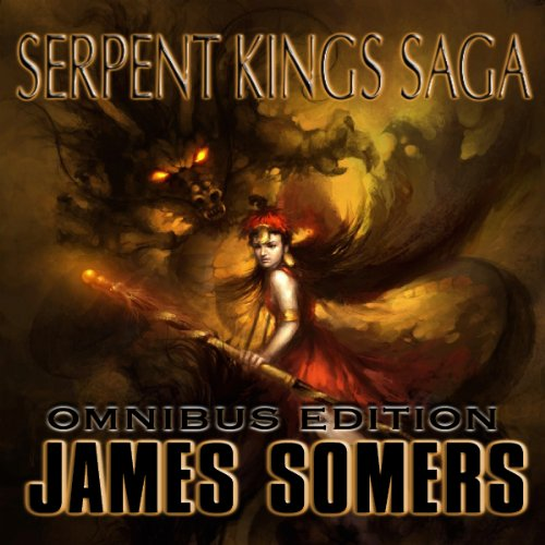 Serpent Kings Saga audiobook cover art