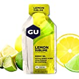 GU Energy Gel Energizante de Limón - Paquete de 24 x 32 gr - Total: 768 gr