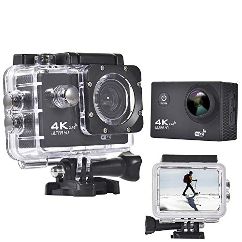earlyad Sportkamera 1080P HD 4K 170 Grad Weitwinkel wasserdicht benchmark Kindly