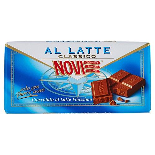 Novi Tavoletta Latte - 12 pezzi da 100 g [1200 g]