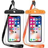 H&S 2 x Waterproof Phone Case Watertight Underwater Phone