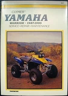 Clymer Yamaha YFM350X Warrior, 1987-1995
