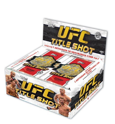 Topps UFC Titel Shot Trading Karten Folie Pack Box