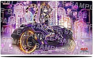 プレイマット ラバーマット 遊戯王 I:Pマスカレーナ 絵違い PAC1 専用 高級 60×35cm 収納ケース付き バトルシティ